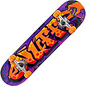 Enuff Graffiti II Orange 7.5inch Mini Complete Skateboard