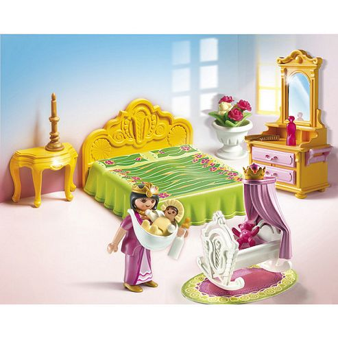 Playmobil 5146 Royal Bed Chamber with Cradle