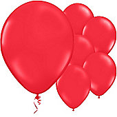 Poppy Red Balloons - 11' Latex Balloon (50pk)