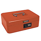 Sterling Combination Red Cash Box - Large