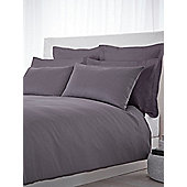 Luxury Hotel Collection 500 TC King Size Fitted Sheet Pair Slate