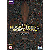 Musketeers (Series 1 & 2) DVD