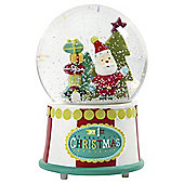 Mamas  Papas Snow Globe Father Christmas