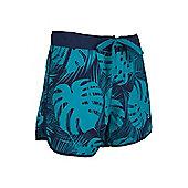 Patterned Womens Boardshorts - Blue