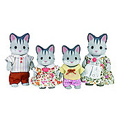 Sylvanian Families Grey Cat Family