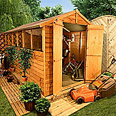 BillyOh 400 12 x 6 Overlap Apex Shed