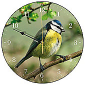 Smith & Taylor tit Wall Clock in Blue