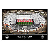 Manchester United Football Club Gloss Black Framed Theatre of Dreams MUFC Poster