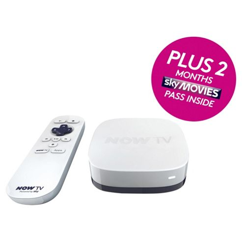 NOW TV HD Digital Media Streamer with Sky Movies 2 Month Pass