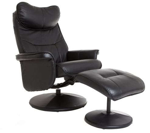 GFA Amsterdam Swivel Recliner and Footstool