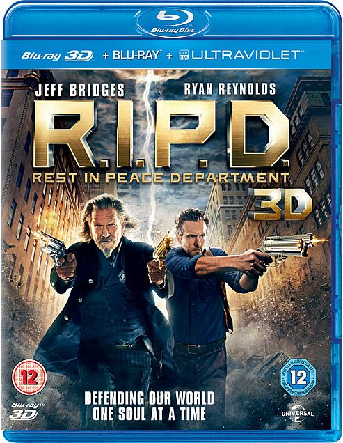R.I.P.D. Rest In Peace Department (3D Blu-ray, Blu-ray & UV)