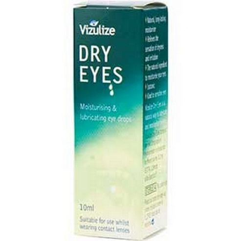 Vizulize Dry Eye Drops (10ml Liquid)