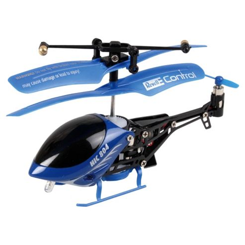 Revell Control RC XS Helicopter 804 Blue