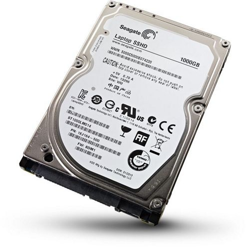 Seagate Laptop (1TB) Solid State Hybrid Drive 2.5 inch (5400rpm) SATA 6Gb/s 64MB 8GB NAND (Internal)