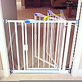 Bettacare Auto Close Gate White Extra Narrow