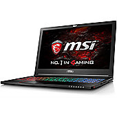 "MSI GS63VR 6RF(Stealth Pro)-011UK 15.6"" Intel Core i7 Windows 10 16GB RAM 256GB SSD + 2000GB Gaming Laptops Black"
