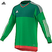 Adidas Top 15 Gk Jersey Youth - Green