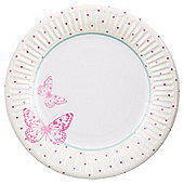 Table Fun Butterfly Paper Plate 20cm 8 Pack