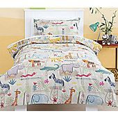 Jungle Animals Junior Bedding Set
