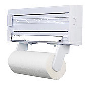 Kitchen craft Cling Film, Foil and Paper Towel Dispenser