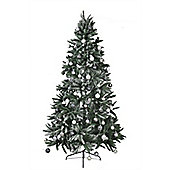 Mountain Pine PE Snow Tipped 6ft Christmas Tree