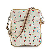 Pink Lining - Out and About Messenger Bag - TULIPS & FORGET ME NOTS