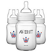Avent Blue Bottle 9Oz X3