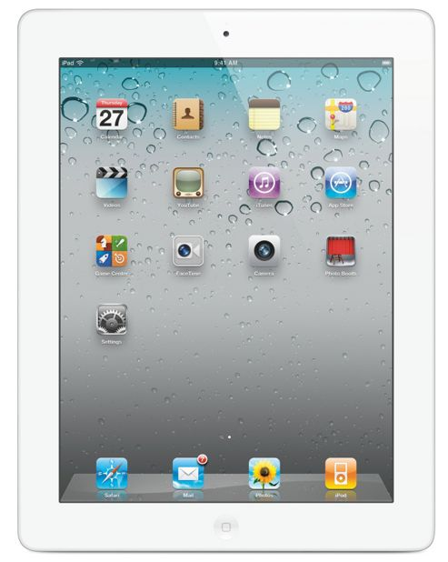 Apple iPad 64 GB Wifi (3rd Gen) (White)