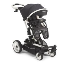 Mee-Go Inspire Stroller Pram/Maxi Cosi Adaptors (Black Denim)