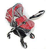 Raincover Compatible With Silver Cross Freeway Combination Pushchair