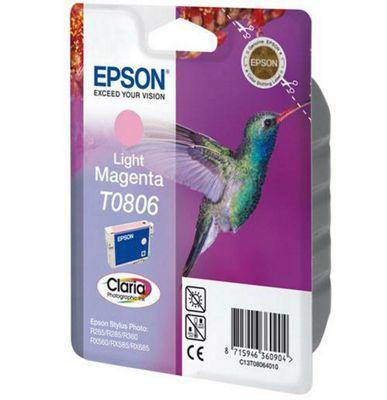 Epson T0806 Light Magenta Ink Cartridge