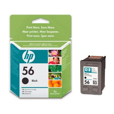 HP 56 Printer Ink Cartridge - Black