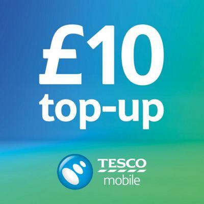 Tesco Mobile £10 Top Up