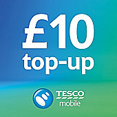 Tesco Mobile £10 Top Up