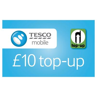 Tesco Mobile £10 Top-up voucher