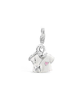 Little Angels T Shirt Clip On Charm