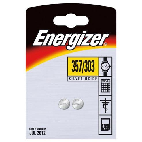 Energizer 2 Pack 357/303 Batteries