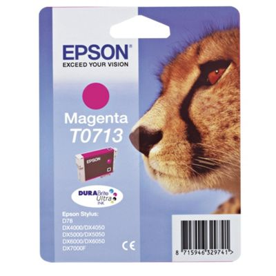 Epson Cheetah T0713 Magenta DURA Ink