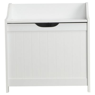 Southwold Bathroom Storage Unit, White Wood Tongue & Groove