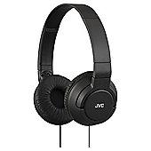 JVC HA-S180 Deep Bass On-Ear Headphones - Black