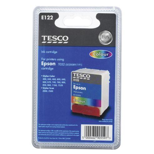 Tesco E122 Printer Ink Cartridge - Tri-Colour
