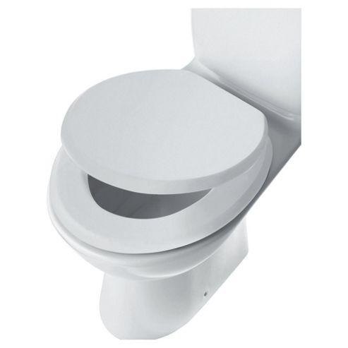 Tesco Wood Toilet Seat, White