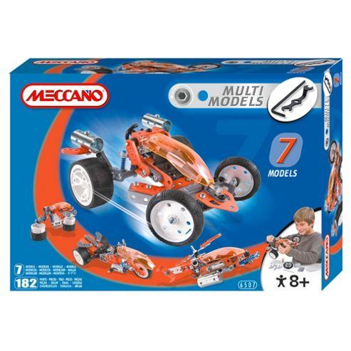 Meccano Multi Models 7 Motorbike Model Set