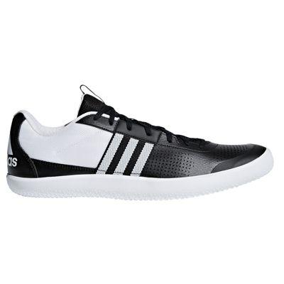 adidas Throwstar Hammer Shot Put Discuss Field Spike Shoe Black - UK 7.5