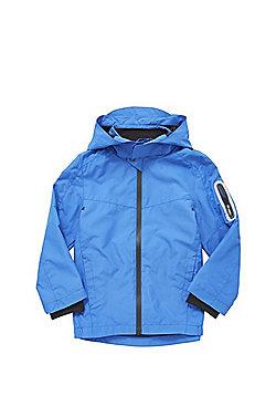 F&F Lightweight Mesh Lined Jacket - Blue