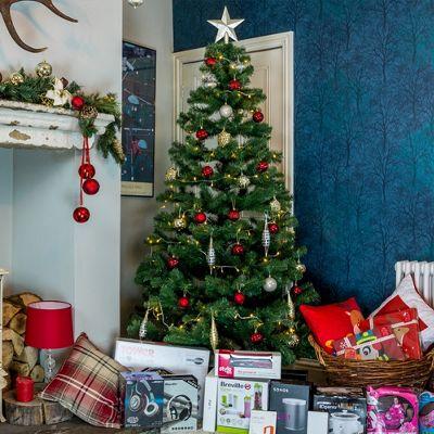 7ft Meribel Green Spruce Christmas Tree