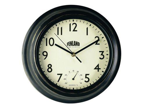 Gardman 17192 Manor Clock & Thermometer