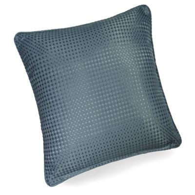Hamilton Mcbride Waffle Sea Blue Piped Cushion Cover - 43x43cm