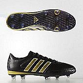 adidas Performance Gloro 16.1 FG K-Leather Football Boots - Black
