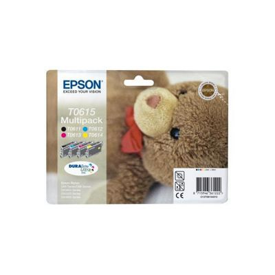 Epson Multipack 4-Colour T0615 DURABrite Ultra Ink